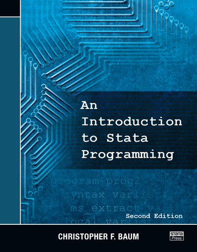 An Introduction to Stata Programming, Second Edition - eBook